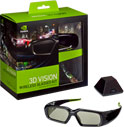 3D VISION WIRELESS GLASSES KIT