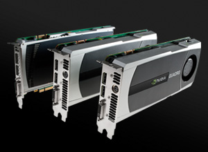 New NVIDIA professional graphics solutions family (Quadro 4000, 5000, and 6000)